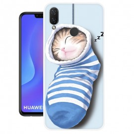 Coque Silicone Huawei P Smart Plus Chatons