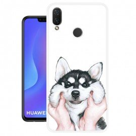 Coque Silicone Huawei P Smart Plus Husky