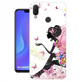Coque Silicone Huawei P Smart Plus Fée
