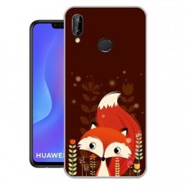 Coque Silicone Huawei P Smart Plus Renard