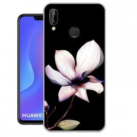 Coque Silicone Huawei P Smart Plus Fleur