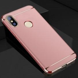 Coque Xiaomi MI A2 Rigide Chromée Rose