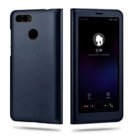 Etuis Portefeuille Huawei P Smart Cover Vision Noir