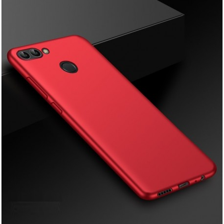 Coque Silicone Huawei P Smart Extra Fine Rouge