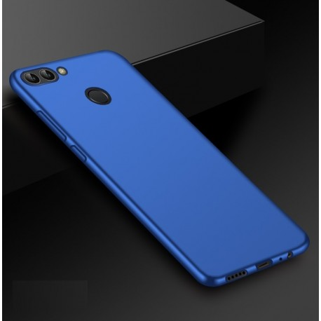 Coque Silicone Huawei P Smart Extra Fine Bleu