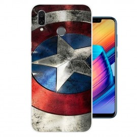 Coque Silicone Honor Play America