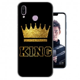 Coque Silicone Honor Play Bling King