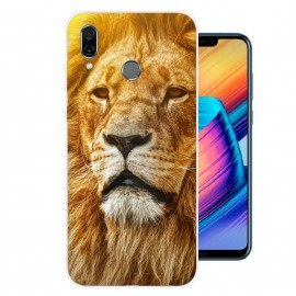 Coque Silicone Honor Play Lion