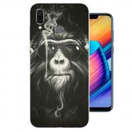 Coque Silicone Honor Play Singe