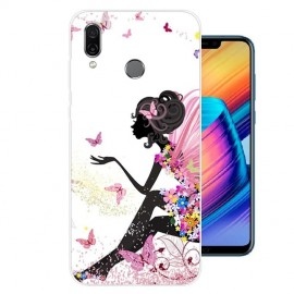 Coque Silicone Honor Play Fée