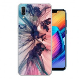 Coque Silicone Honor Play Fumée
