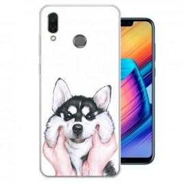 Coque Silicone Honor Play Husky