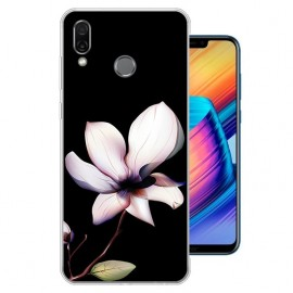 Coque Silicone Honor Play Fleur
