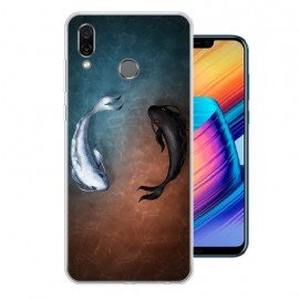 Coque Silicone Honor Play Poissons