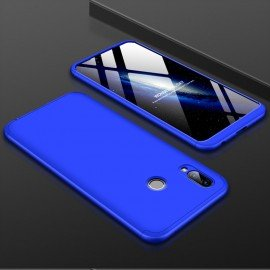 Coque 360 Honor Play Bleu