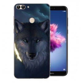 Coque Silicone Huawei P Smart Loup