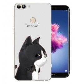 Coque Silicone Huawei P Smart Chat