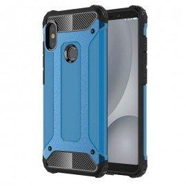 Coque Xiaomi MI A2 Anti Choques Bleu
