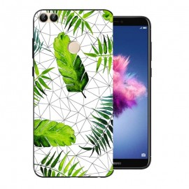 Coque Silicone Huawei P Smart Feuilles
