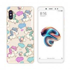 Coque Silicone Xiaomi MI A2 Licornes