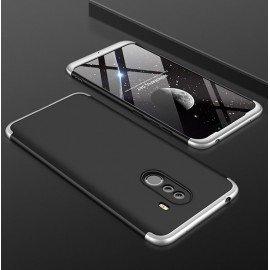 Coque 360 Xiaomi Pocophone F1 Noir et Grise