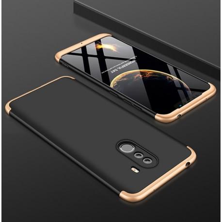 Coque 360 Xiaomi Pocophone F1 Noir et Or