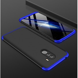 Coque 360 Xiaomi Pocophone F1 Noir et Bleu