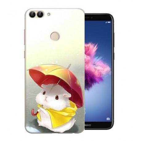 Coque Silicone Huawei P Smart Souris