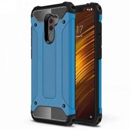 Coque Xiaomi Pocophone F1 Anti Choques Bleu