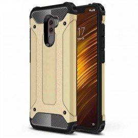 Coque Xiaomi Pocophone F1 Anti Choques Dorée