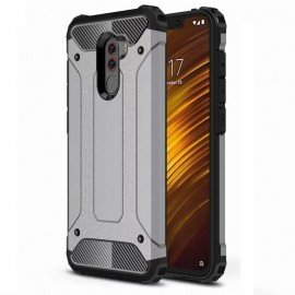 Coque Xiaomi Pocophone F1 Anti Choques Grise