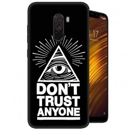 Coque Silicone Xiaomi Pocophone F1 Confiance