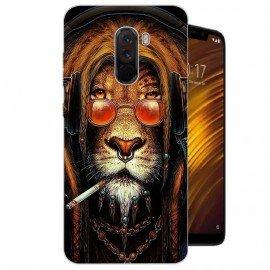 Coque Silicone Xiaomi Pocophone F1 Lion Cool