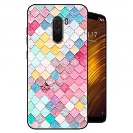 Coque Silicone Xiaomi Pocophone F1 Aquarelles