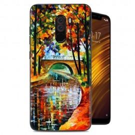 Coque Silicone Xiaomi Pocophone F1 Peinture