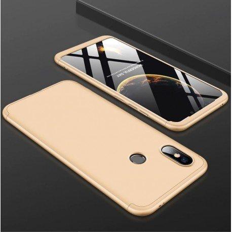 Coque 360 Xiaomi MI 8 SE Dorée
