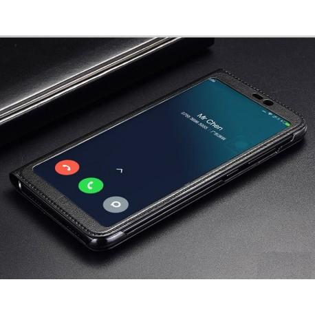 Etuis Xiaomi MI 8 SE Portefeuille Vision Noir