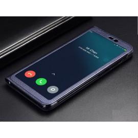 Etuis Xiaomi MI 8 SE Portefeuille Vision Bleu