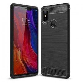 Coque Silicone Xiaomi MI 8 SE Brossé Noir