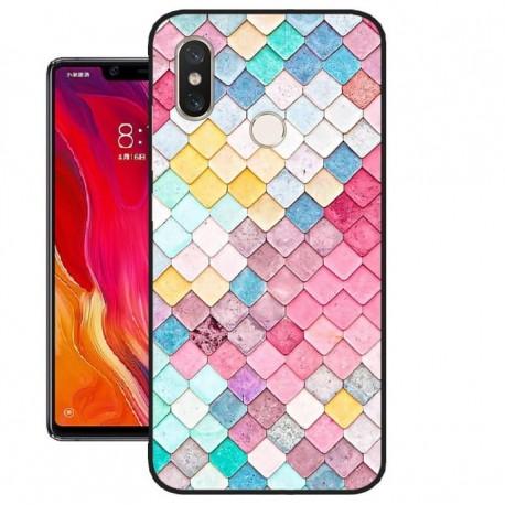 Coque Silicone Xiaomi MI 8 SE Aquarelle