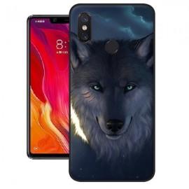 Coque Silicone Xiaomi MI 8 SE Loup