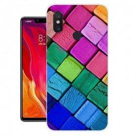 Coque Silicone Xiaomi MI 8 SE Cubes