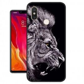 Coque Silicone Xiaomi MI 8 SE Lion
