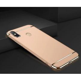 Coque Xiaomi MI 8 Rigide Chromée Dorée
