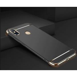 Coque Xiaomi MI 8 Rigide Chromée Noir