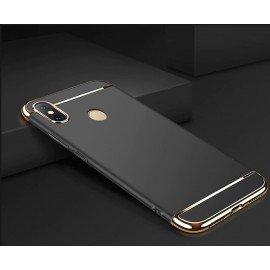 Coque Xiaomi MI 8 SE Rigide Chromée Noir