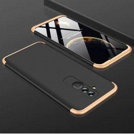 Coque 360 Huawei Mate 20 Lite Noir et Or