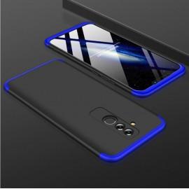 Coque 360 Huawei Mate 20 Lite Noir et Bleu