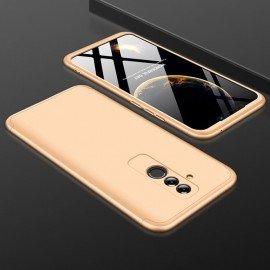 Coque 360 Huawei Mate 20 Lite Dorée