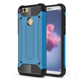 Coque Huawei P Smart Anti Choques Bleu